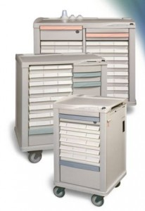 Lionville Medication Carts