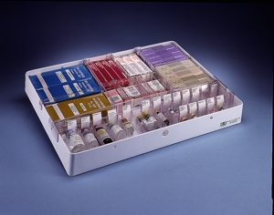 H+H System Organized Tray with Ampule Divider